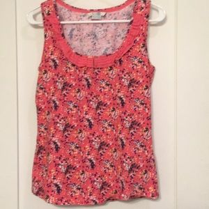 Boden floral sleeveless top